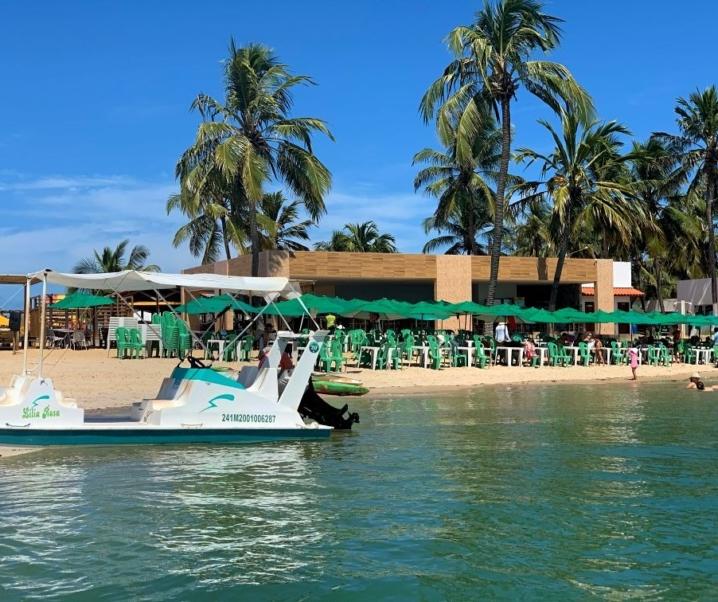 TRAVESSIA BARRA DE SÃO MIGUEL – PRAIA DO GUNGA EM ALAGOAS: Aquário natural + banco de areia!