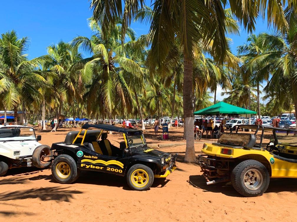 passeio de buggy praia do gunga