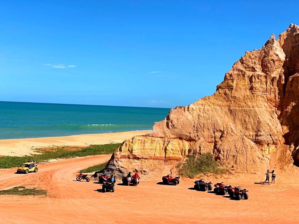 passeio de buggy alagoas praia do gunga