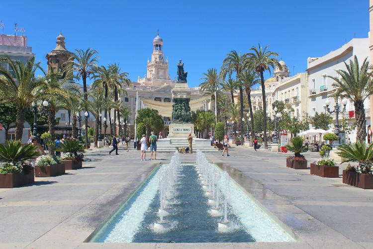 Plaza San juan de Dios Cadiz