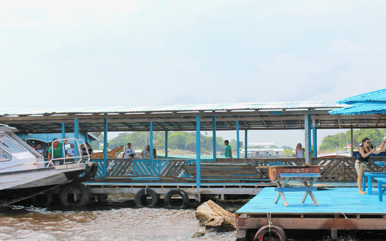 passeio de barco pelo rio amazonas em manaus