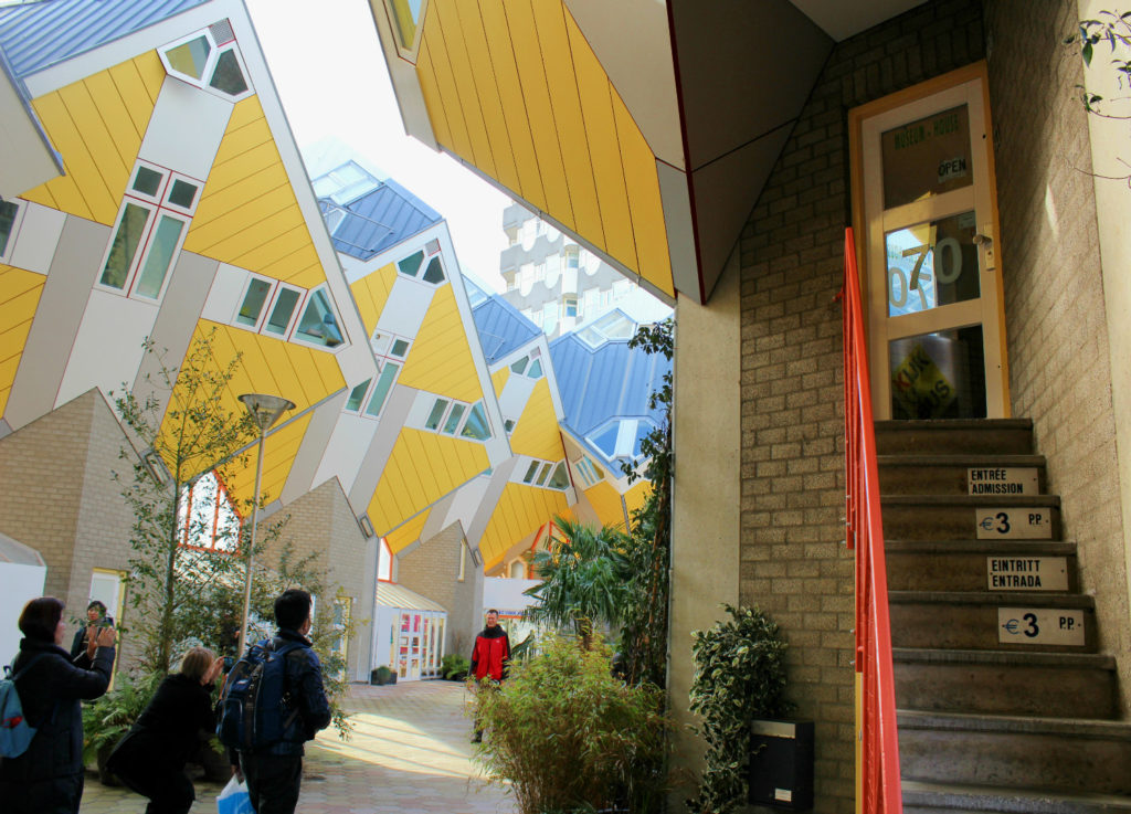 Casa Cubo Rotterdam Holanda