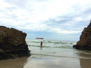 Ilha do Mel praia das encantadas
