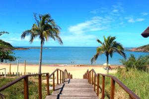 Praia de Bacutia Guarapari