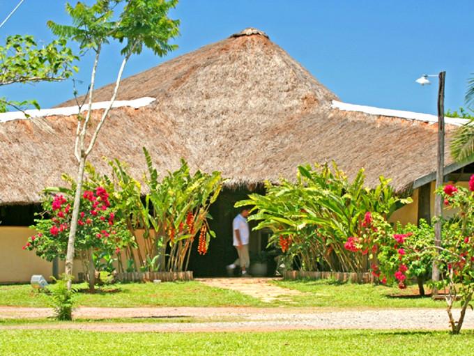 Arvorismo no Hotel Cabanas em Bonito
