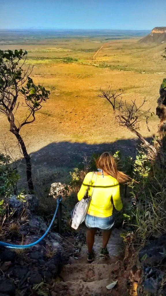 trilha da Serra do Espirito Santo