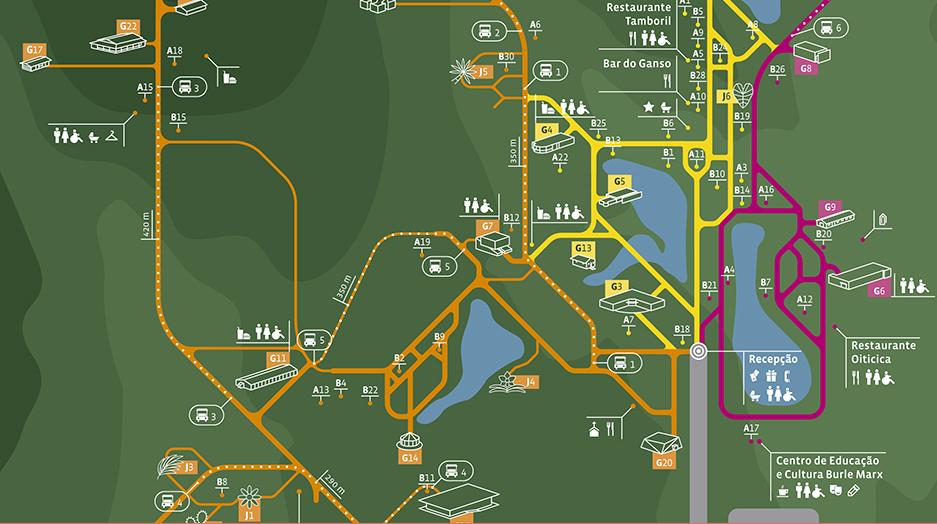 mapa completo de inhotim