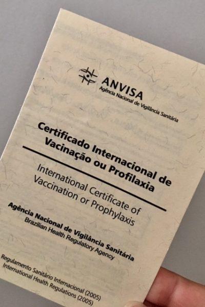 FEBRE AMARELA: COMO EMITIR O CERTIFICADO INTERNACIONAL DE VACINAÇÃO!