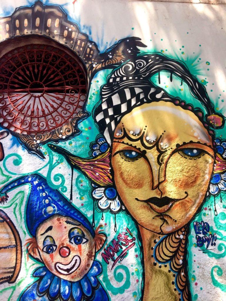 arte de rua em olinda