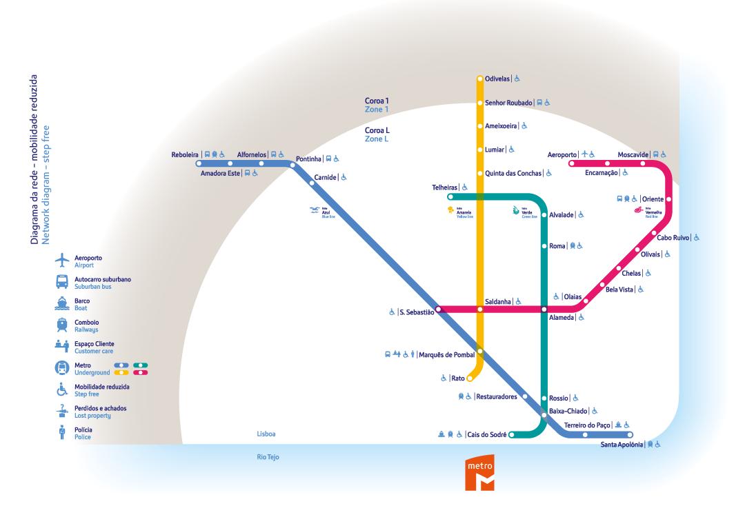 Mapa metro Lisboa   Viajante Comum 3029baef8a
