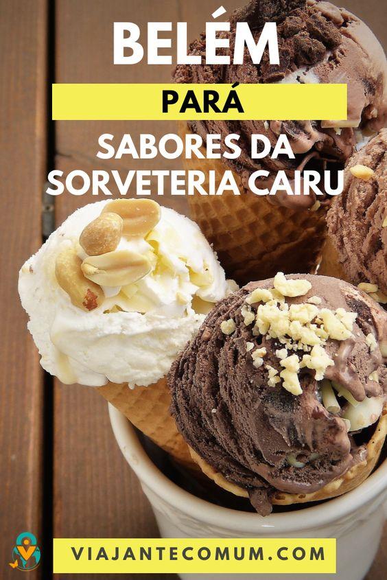 sorveteria em belem para