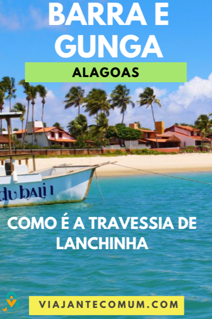 travessia barra gunga de lanchinha